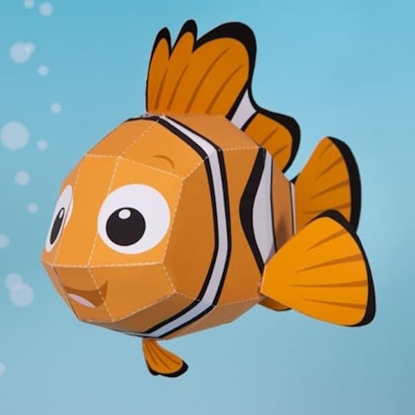 Manualidades infantiles de Nemo