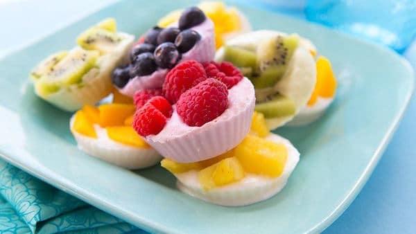 5 Meriendas Saludables Con Yogur Y Fruta Pequeociocom