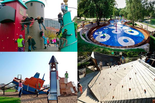 Parques infantiles increíbles