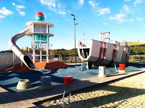 Parques infantiles espectaculares