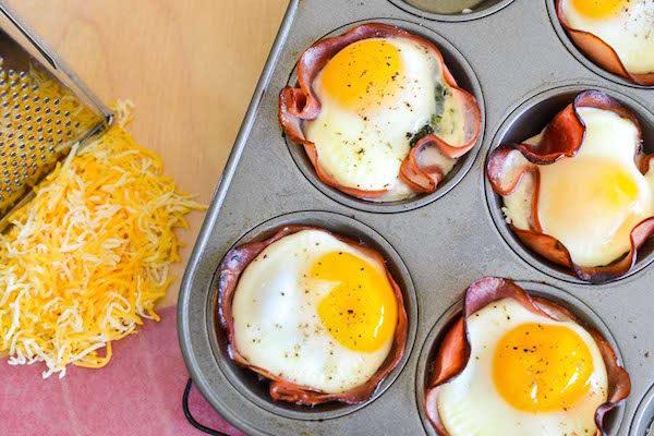 Cenas r pidas tacitas de jam n huevo y queso pequeocio for Cenas faciles