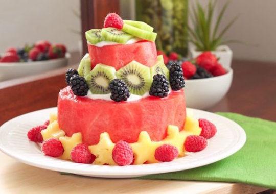 Tartas de fruta