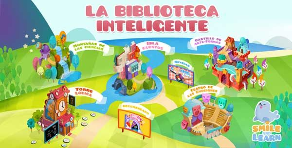 biblioteca inteligente smile and learn