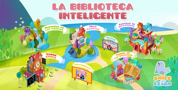 biblioteca inteligente smile and learn