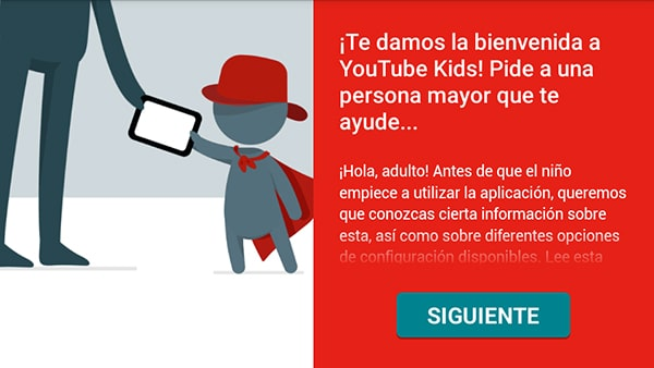 YouTube Kids instalación