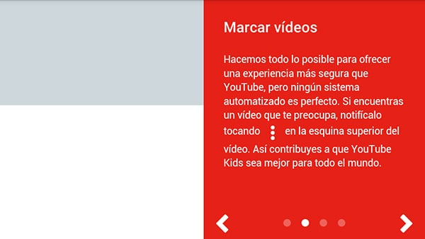 YouTube Kids configuracion