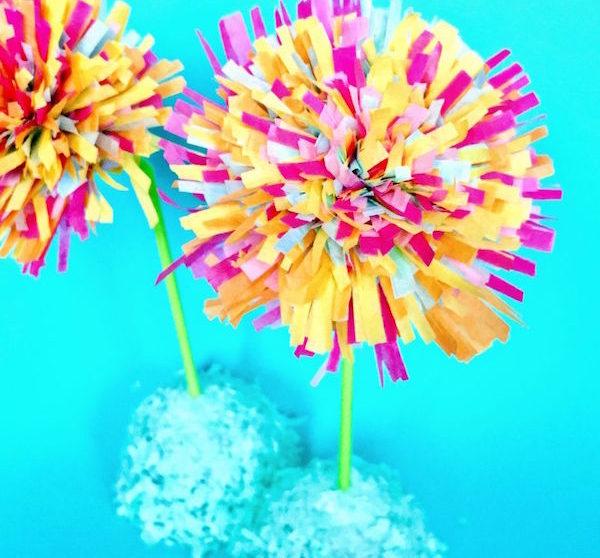 5 Flores De Papel Para Hacer Con Los Ninos Pequeocio Com