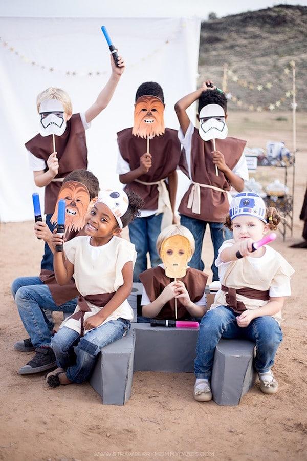 Fiestas infantiles de Star Wars