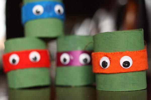 Manualidades para niños de las Tortugas Ninja