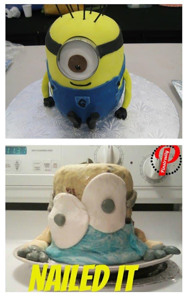 Las peores tartas infantiles