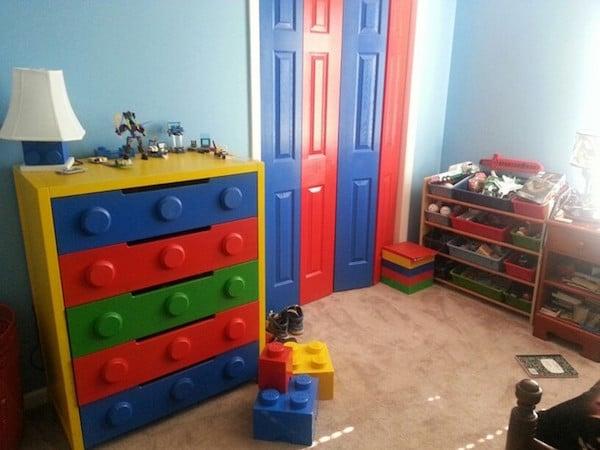 Muebles infantiles, 5 cajoneras personalizadas - Pequeocio