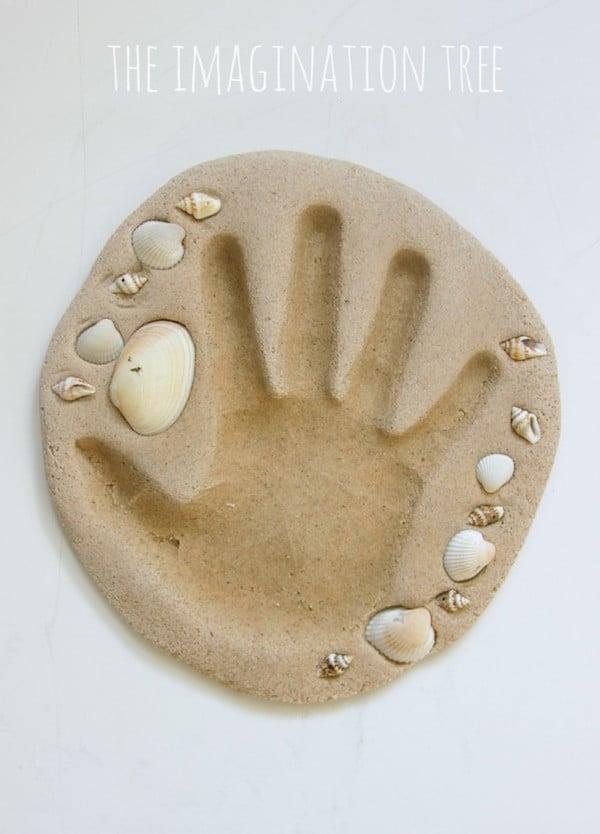 Pasta de arena casera
