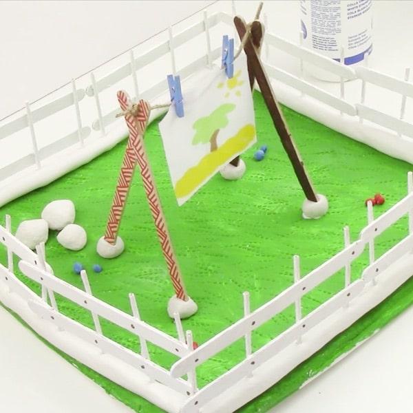 Crea tu propio jard n con pasta de modelar pequeocio for Crea tu jardin