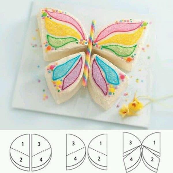 Tarta mariposa receta