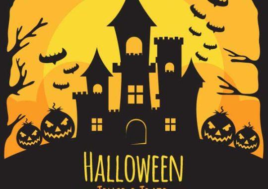 calabazas de halloween jack-o-lantern
