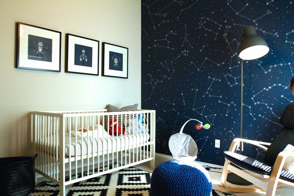 5 ideas para pintar la pared de las habitaciones infantiles - Pequeocio