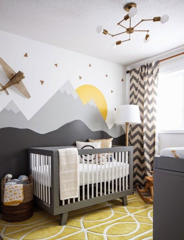 infantiles decorar paredes con pintura