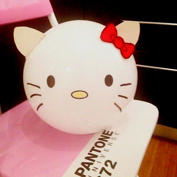 Ikea Hacks: Lámpara Fado Hello Kitty