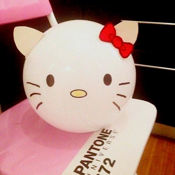 Ikea Hacks: Lámpara Fado Hello Kitty
