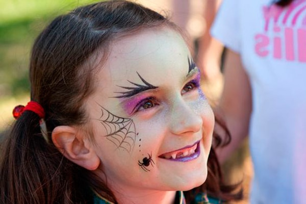 maquillaje bruja de halloween