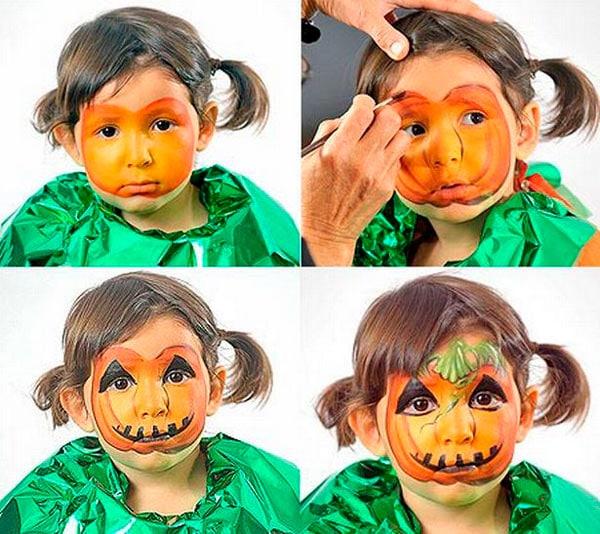14-maquillaje-Halloween-calabaza