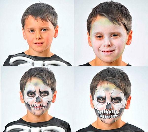 15-maquillaje-Halloween-calavera
