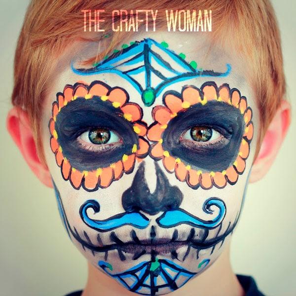 16-maquillaje-Halloween-calavera-mexicana