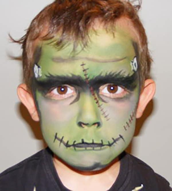 17-maquillaje-Halloween-Frankenstein