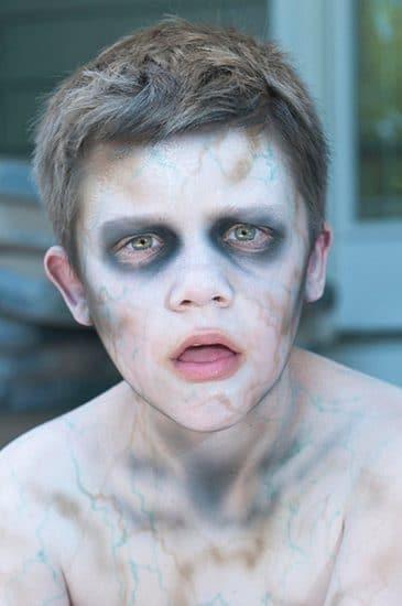 maquillaje Halloween de zombie