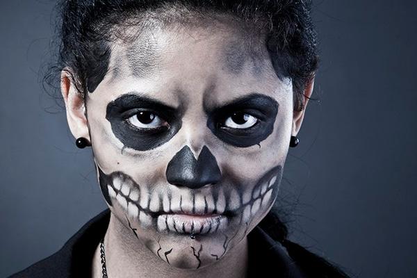 Los maquillajes de Halloween mas terrorificos