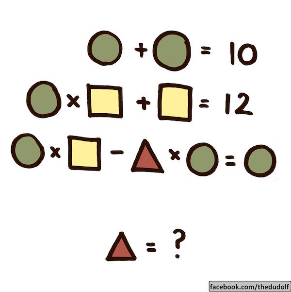 Acertijo matemático