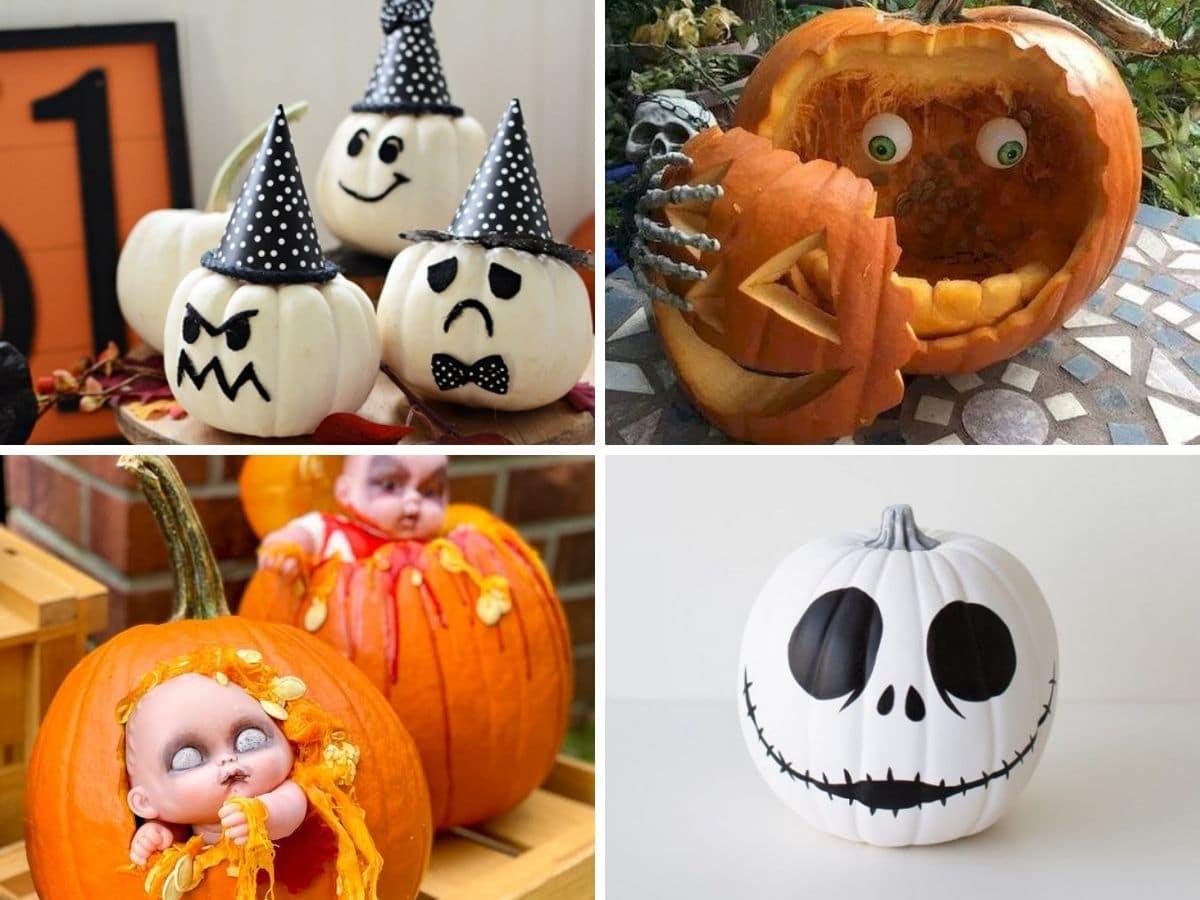 15 ideas de calabazas decoradas de Halloween 1