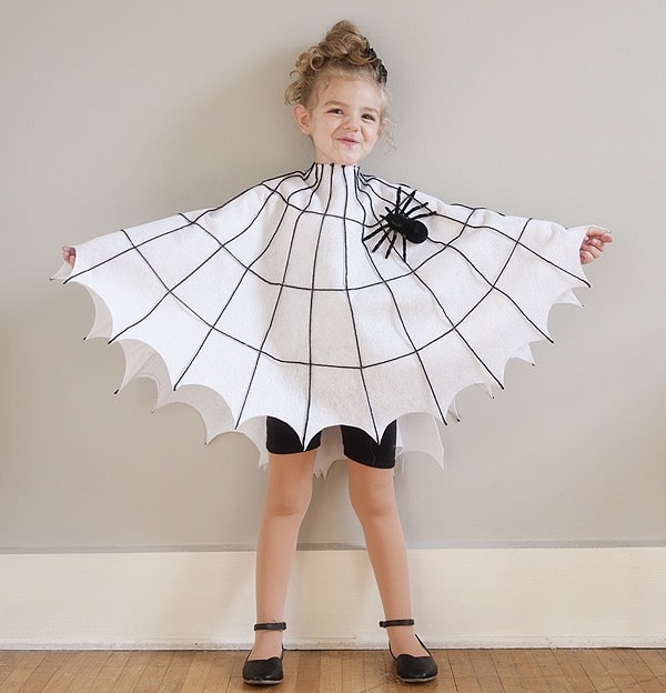 Disfraz casero de Halloween