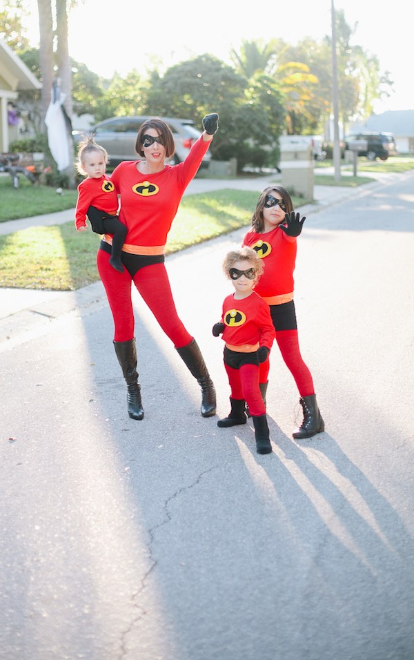 Dsifraces de Halloween para familias