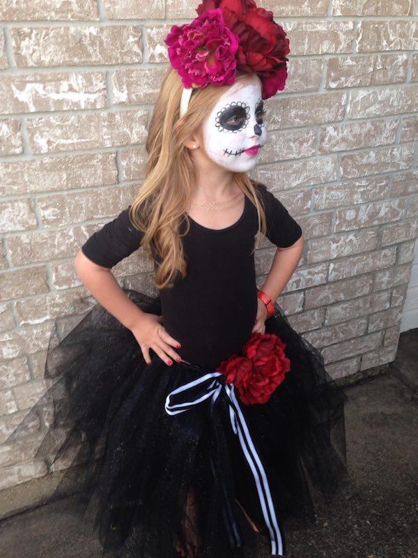 Disfraz calavera mexicana