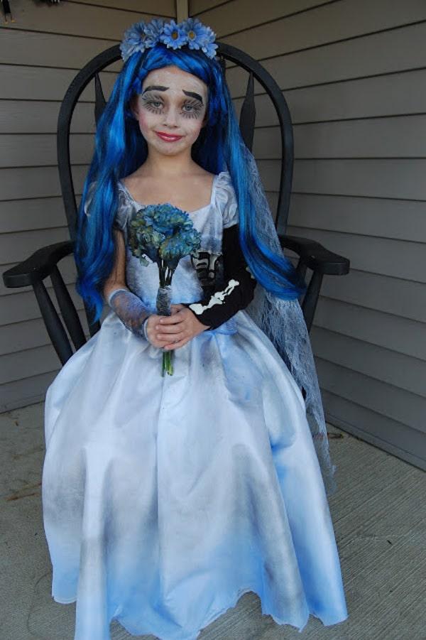 disfraz de novia cadver