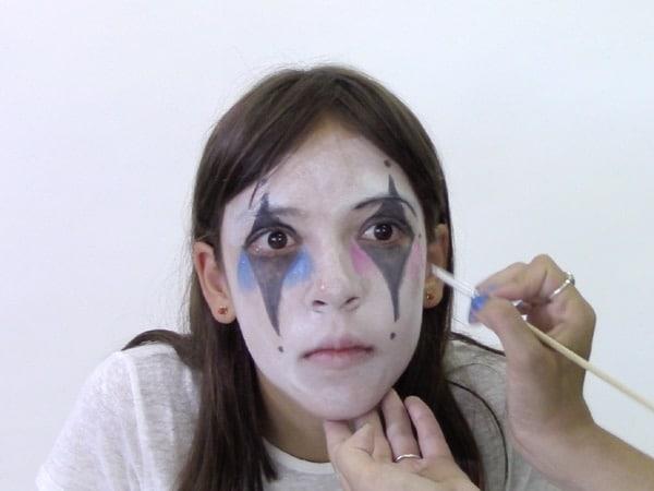 Maquillaje de payaso para niños