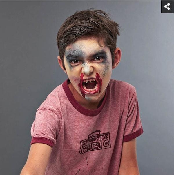 como hacer maquillaje zombie
