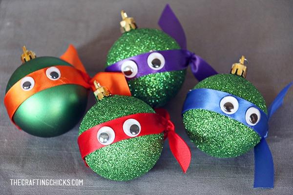 7 bolas de Navidad para hacer con los peques Pequeocio