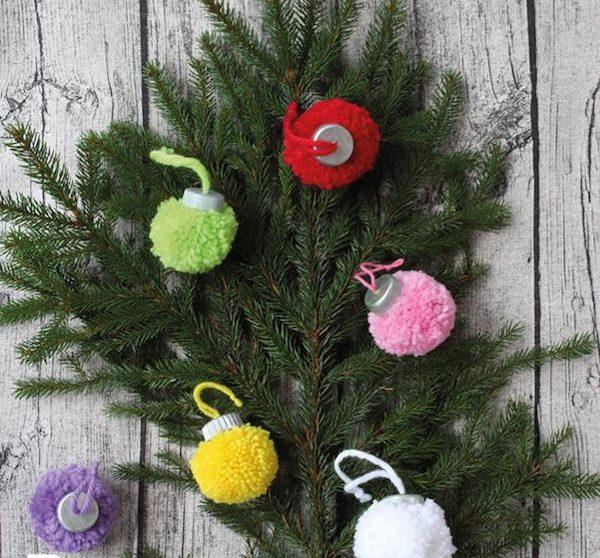 Manualidades Para Navidad Paso A Paso Faciles.7 Bolas De Navidad Para Hacer Con Los Peques Pequeocio Com