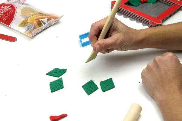 manualidad de navidad: como hacer un centro de mesa