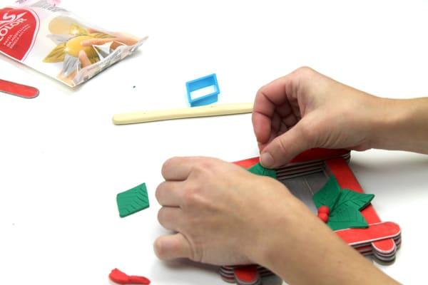 manualidad de navidad: como hacer un centro de mesa paso a paso