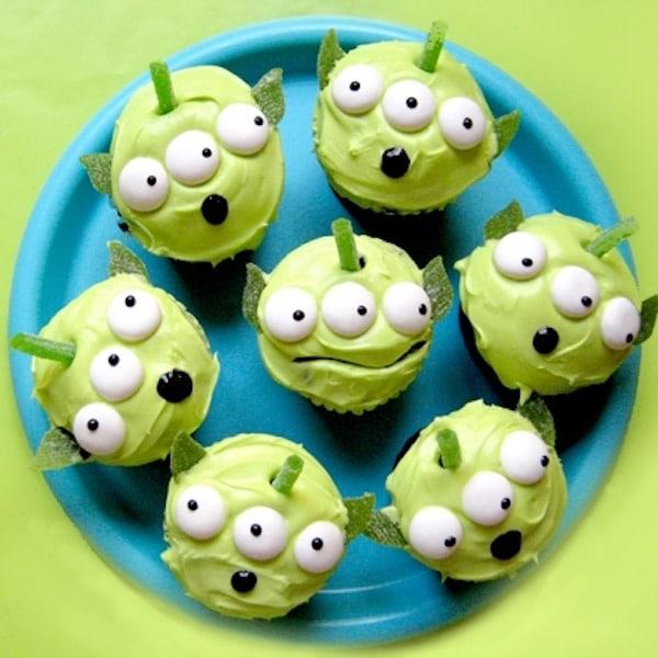 Cupcakes toy story para niños