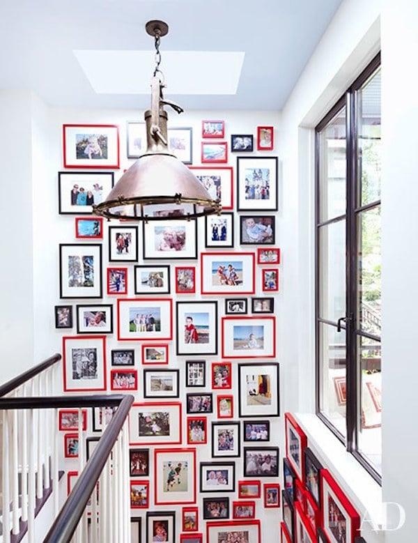 6 modos para decorar paredes con fotos de familia pequeocio for Como hacer un cuadro con fotos familiares