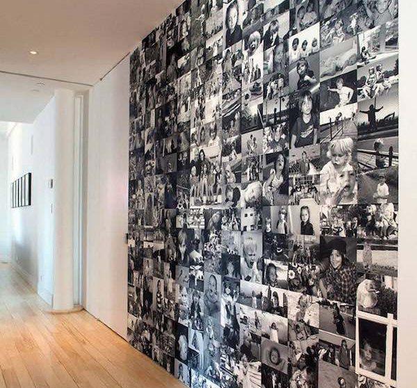6 modos para decorar paredes con fotos de familia - Como adornar una pared ...