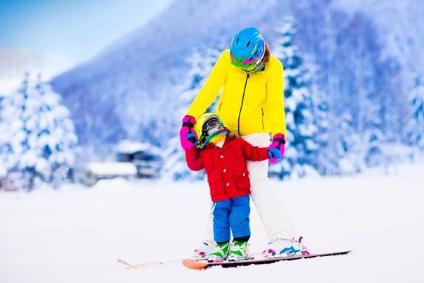 consejos para ir a esquiar con ninos