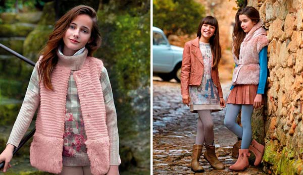 La moda de Mayoral, otoño invierno