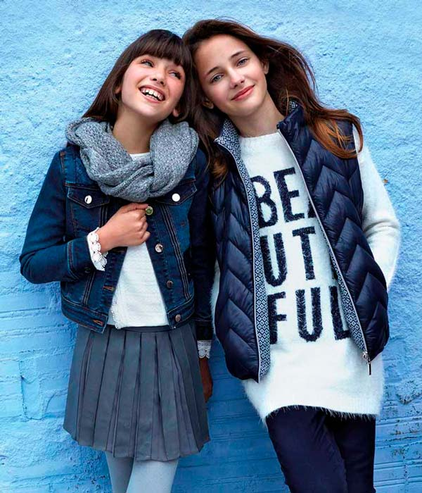 Moda otoño invierno para niños con Mayoral