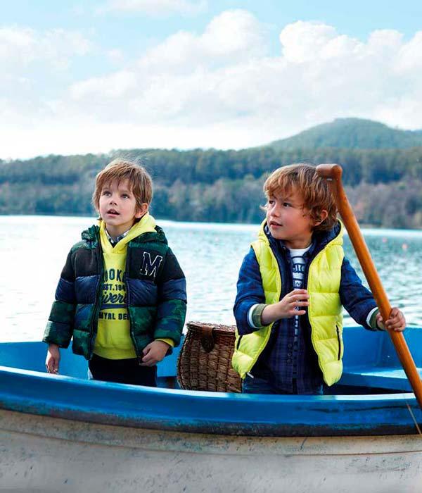 Moda para niños, otoño invierno de Mayoral