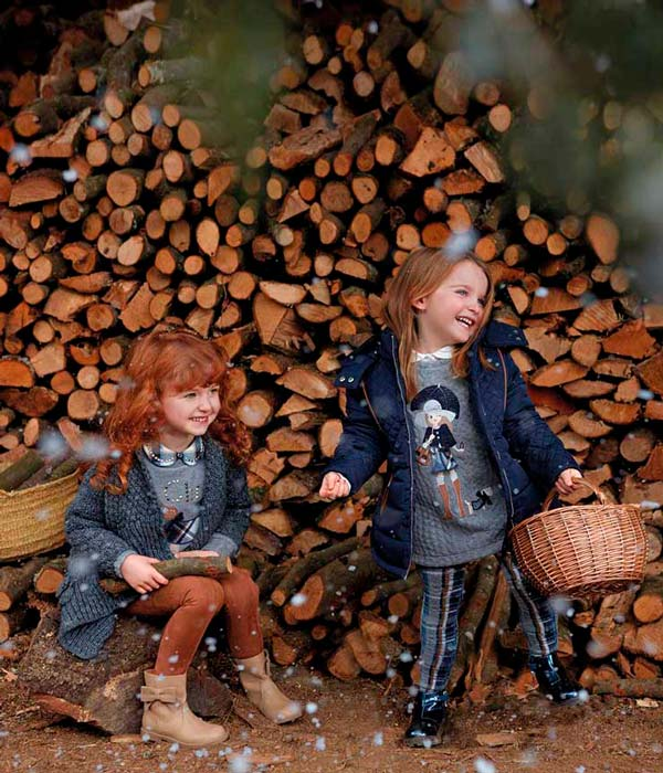 Moda infantil de Mayoral, temporada otoño invierno